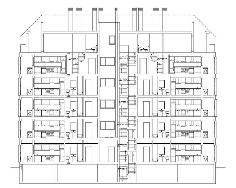 EDIFICIO RESIDENCIAL 75 VIVIENDAS ONDARA - ALICANTE SECCION